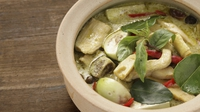 Thai green chicken curry - A simple, straightforward and nourishing main, great for beginners!