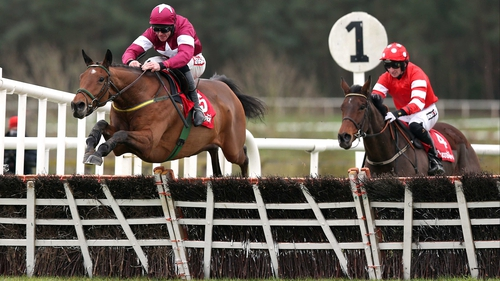 Road To Riches will take on the three-mile Albert Bartlett Novices' Hurdle at Cheltenham