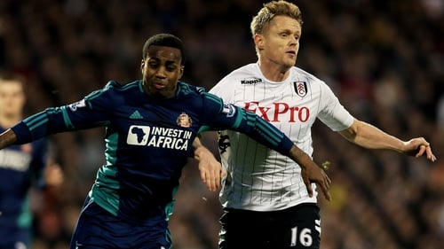 Damien Duff looks set to see his career out with Fulham