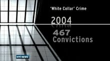Substantial drop in white collar crime convictions