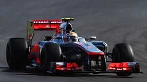 McLaren's Lewis Hamilton was the diver on form in Austin