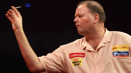 Van Barneveld was emotional after his victory