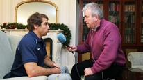 Argentina's Gonzalo Camacho tells RTÉ's Michael Corcoran that they are a very ambitious side