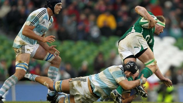 Ireland currently lie one place below Argentina in the world rankings