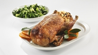 Roast Duck with orange whiskey glaze - A great festive recipe from Paul Flynn for Lidl