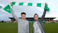 Dave Kelly speaks to Shamrock Rovers' new signings Mark Quigley and Sean O'Connor