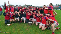 Maola MacDonnchadha visits Peterswell in Galway as celebrations continue following St Thomas' county final win