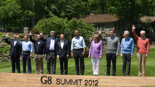 The 2012 G8 summit was held in Camp David