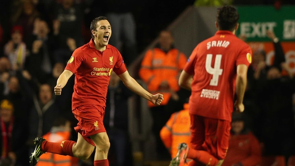 Stewart Downing made 91 appearances and scored seven goals for Liverpool