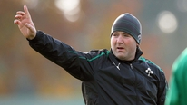 Irish defence coach Anthony Foley tells Michael Corcoran that they have built-up nicely to the Argentina game
