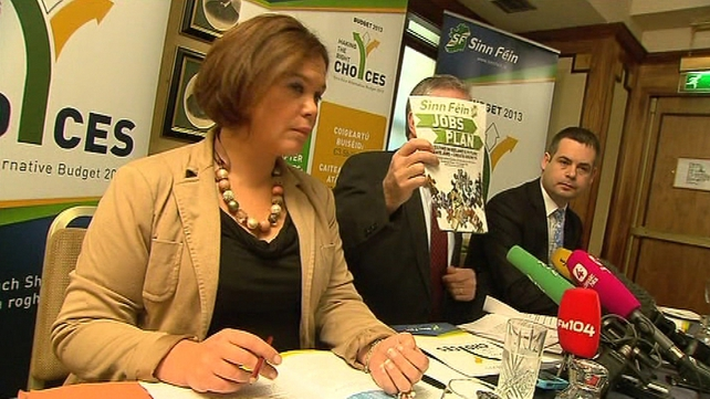 Sinn Féin wants to raise €800m through  a wealth tax