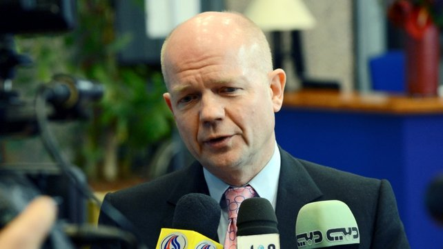 William Hague said he is concerned for the safety of those seized