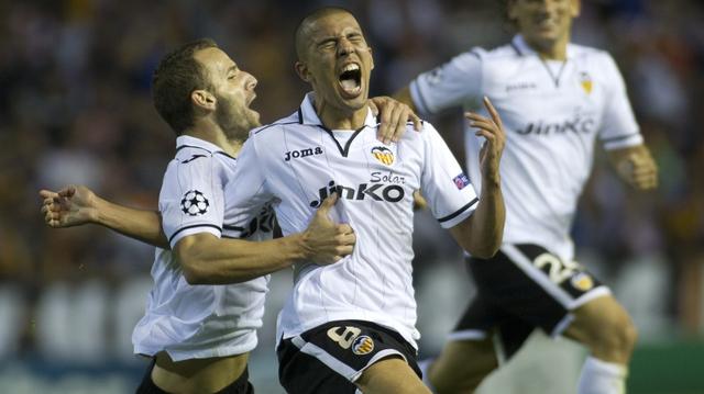 Sofiane Feghouli scores for Valencia
