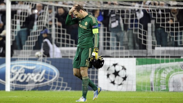 Petr Cech is unhappy with being second fiddle at Chelsea