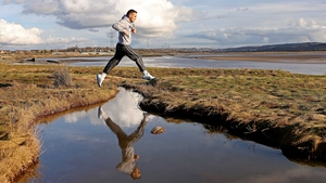 Welsh boxer Billy Smith trains in Swansea, Wales