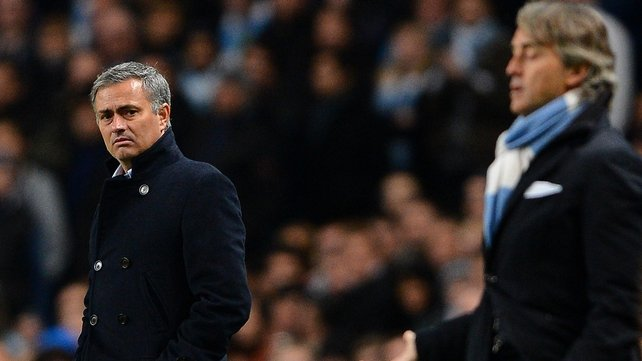 Jose Mourinho's side drew 1-1 against Manchester United in the first leg