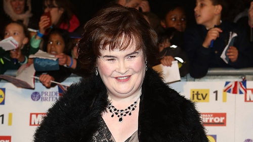 Susan Boyle had to overdub some of her lines in The Christmas Candle