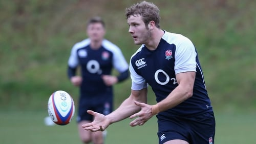 Launchbury gets his chance to impress in the forwards