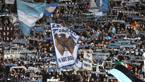 Lazio fans taunted Roma with anti-Semitic slogans