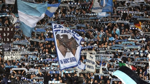 Lazio fans will be banned from their own stadium for their next two European games