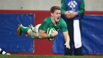 Clare MacNamara reports on the Irish team to face Argentina and Craig Gilroy's inclusion for his first cap