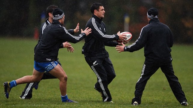 Dan Carter missed New Zealand's march to the World Cup last year after being injured during the pool stages