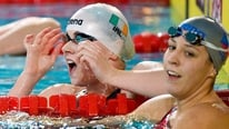 John Kenny discusses Sycerika McMahon's bronze medal in the 50m freestyle at the European Short Course Swimming Championships