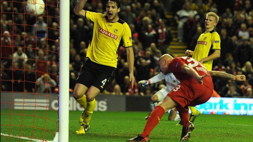 Jonjo Shelvey headed home the game's opening goal