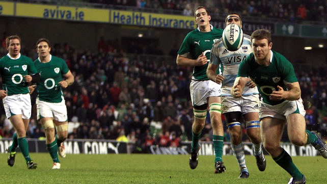 Staying in the IRB top eight will mean Ireland avoid England, Argentina and, most likely, Samoa at RWC 2015