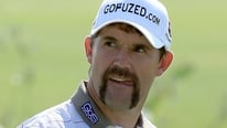 Padraig Harrington says his wife needed some convincing about his Movember moustache