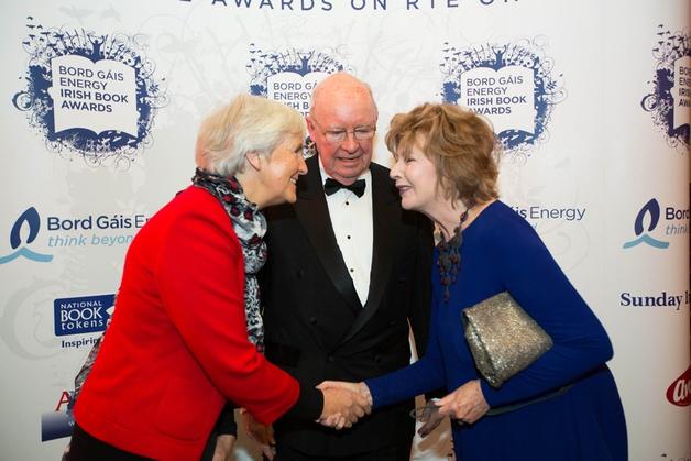 Alice Taylor, Gordon Snell and Edna O'Brien