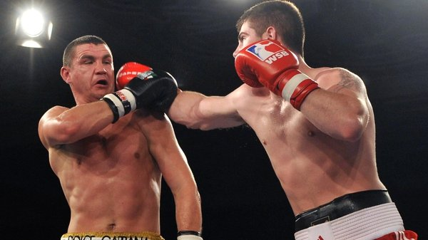 Joe Ward, the current European and Irish Elite champion, fired the Lionhearts into an unassailable 3-0 lead