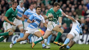 Craig Gilroy was sensational for Ireland against Argentina