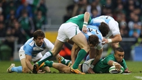 Joe Stack gets the views of happy punters and experts following Ireland's 22-point win over Argentina