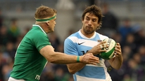 Ireland captain Jamie Heaslip gives his reaction to RTÉ's Gary Moran