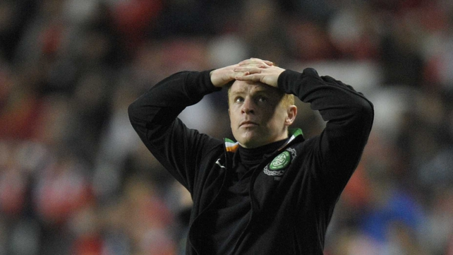 Neil Lennon was a frustrated figure at full-time as Celtic went down to another defeat in the Scottish Premier League