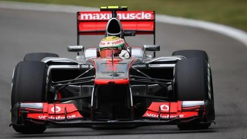 Lewis Hamilton will start on pole in Brazil