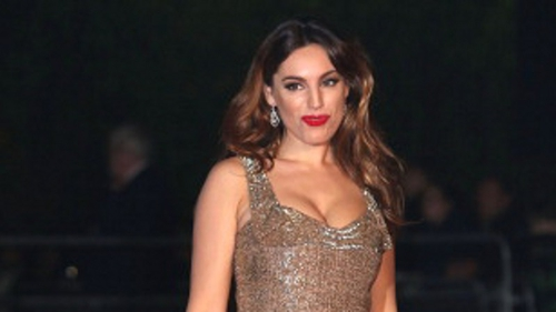 Kelly Brook is taking part in the Strictly Christmas lineup