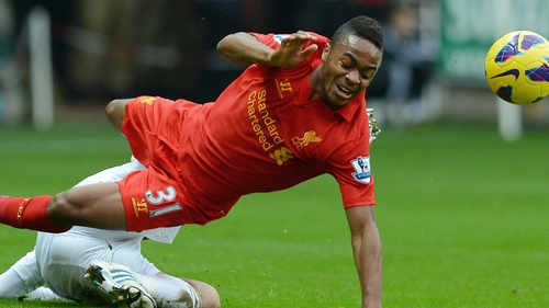 Raheem Sterling rattled the crossbar in the first half but neither side could find a way through