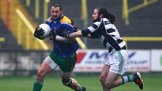 Joe McCormack of Emmet Og Killoe and Brian Smith of Portlaoise