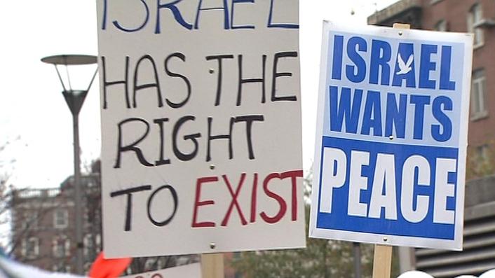 views on Israel and Palestine