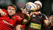 Pat MacAuliffe reports on Munster's 13-6 loss to Scarlets