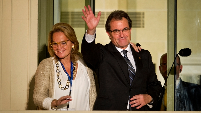 Catalan President Artur Mas said he would still try to hold a referendum