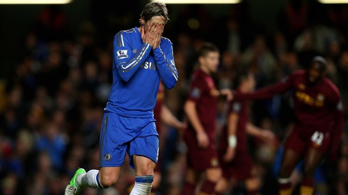 Fernando Torres has found the net just once in the last 13 games