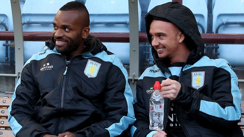 Stephen Ireland (r): 'I just want to get straight in there as fast as I can'
