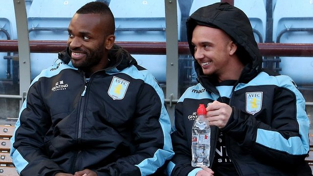 Darren Bent's future looks uncertain at Villa Park