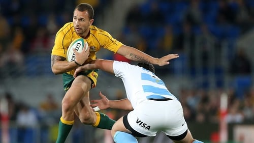 Quade Cooper has been given a starting role against South Africa