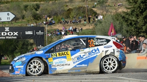 Craig Breen has won a second World Rally title in as many years