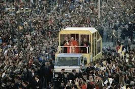 The Popemobile & the Wax Museum
