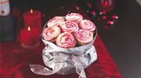 Dr Oetker Rose Cupcakes - These cupcakes are perfect as an edible, homemade gift at Christmas or Valentine's Day